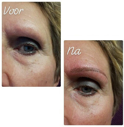 Permanente Make-Up Wenkbrauwen 1 - Body & Beauty