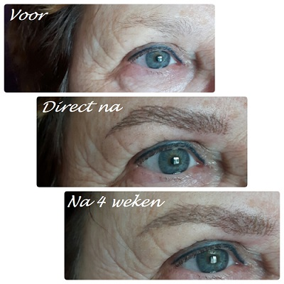 Permanente Make-up voorbeeld 1 - Body & Beauty